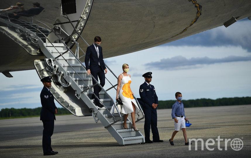 Иванка Трамп с супругом Джаредом Кушнером. Фото AFP