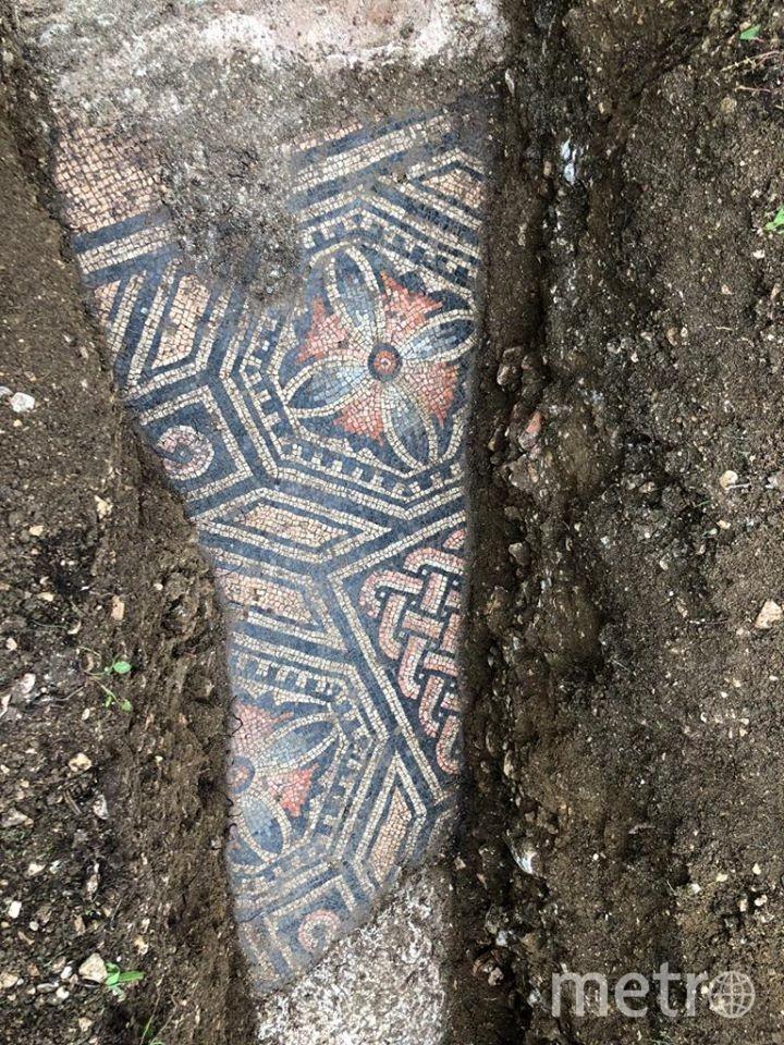 Остатки виллы, которая предположительно была построена в третьем веке н.э., были обнаружены здесь ещё в 1922 году. Фото скриншот: facebook