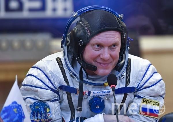 Российский космонавт-испытатель Олег Артемьев. Фото РИА Новости