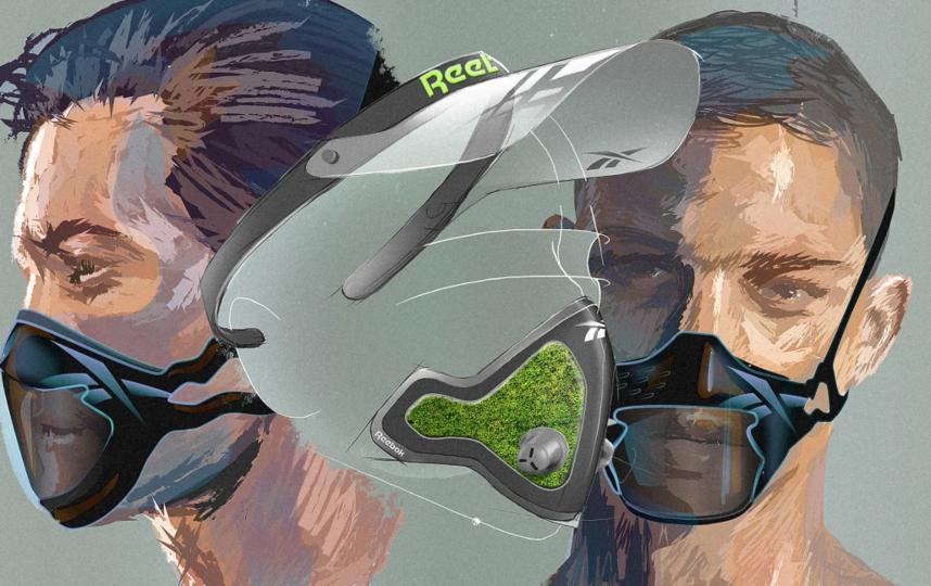 """В проекте, эти маски смогут фильтровать воздух и не мешать заниматься спортом. Фото Предоставлено пресс-службой, """"Metro"""""""