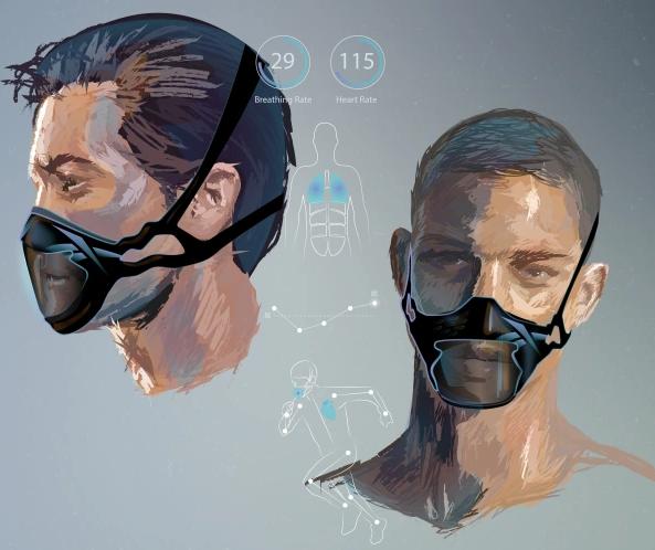 """Первая представлена в чёрном цвете и называется Sensorial Mask. Фото Предоставлено пресс-службой, """"Metro"""""""