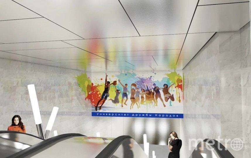 Художественный облик станции дополнят мозаики из стекла. Фото stroi.mos.ru | Москомархитектуры