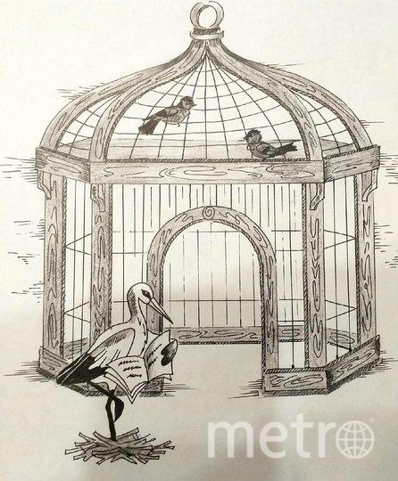 Птичья клетка Бёме. Фото https://kultsled.ru/