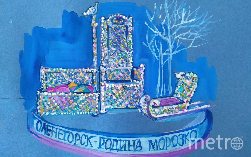 """Арт-объект """"Оленегорск - родина Морозко"""". Фото https://kultsled.ru/"""