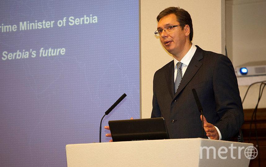 Президент Сербии Александар Вучич. Фото Getty