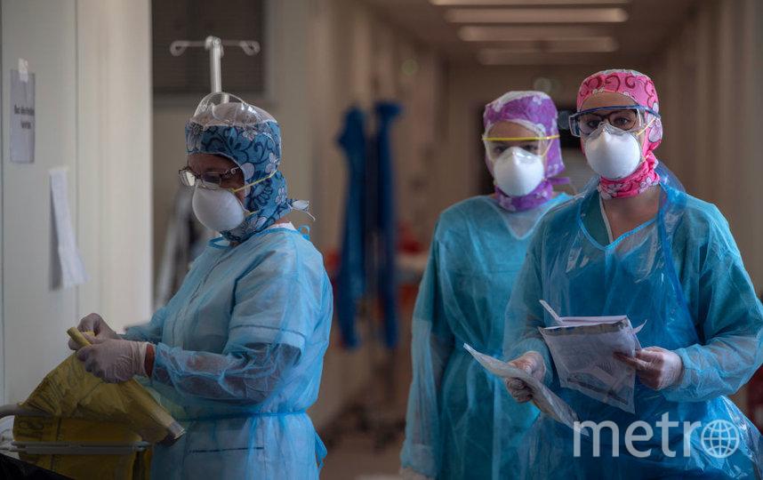 Если бы у французов остались маски, то заражённых врачей было бы меньше. Фото Getty