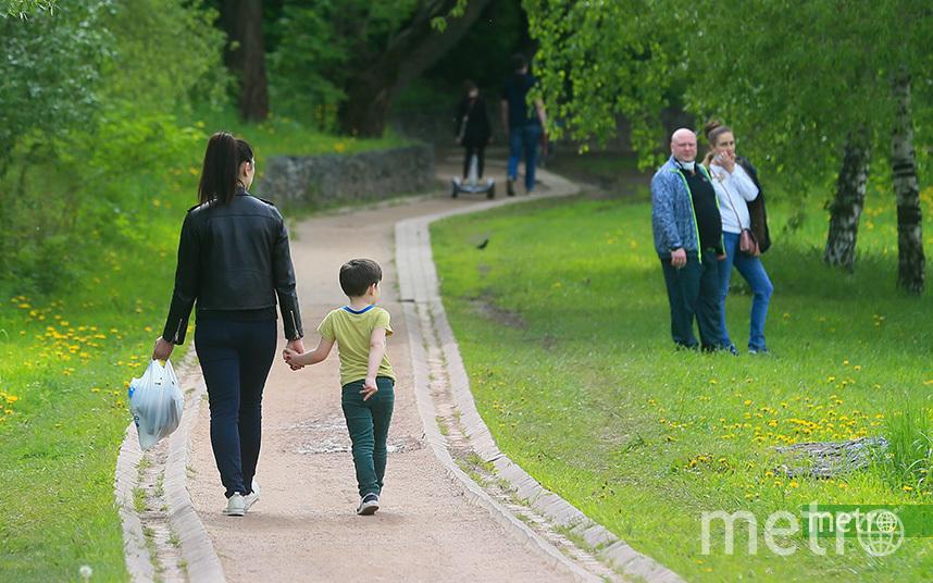 С 1 июня москвичи будут гулять по специальному графику. Фото Василий Кузьмичёнок