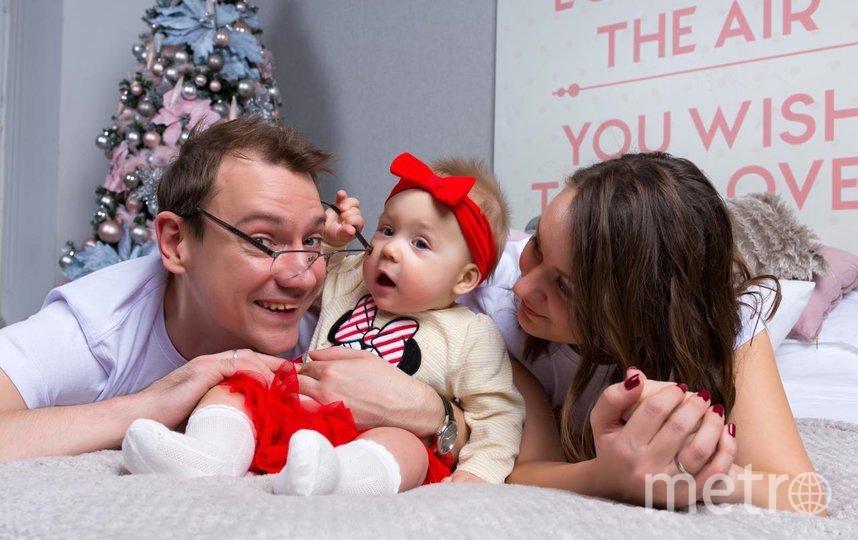 """Общая семейная фотография. Фото из личного архива Марины Чмутовой, """"Metro"""""""