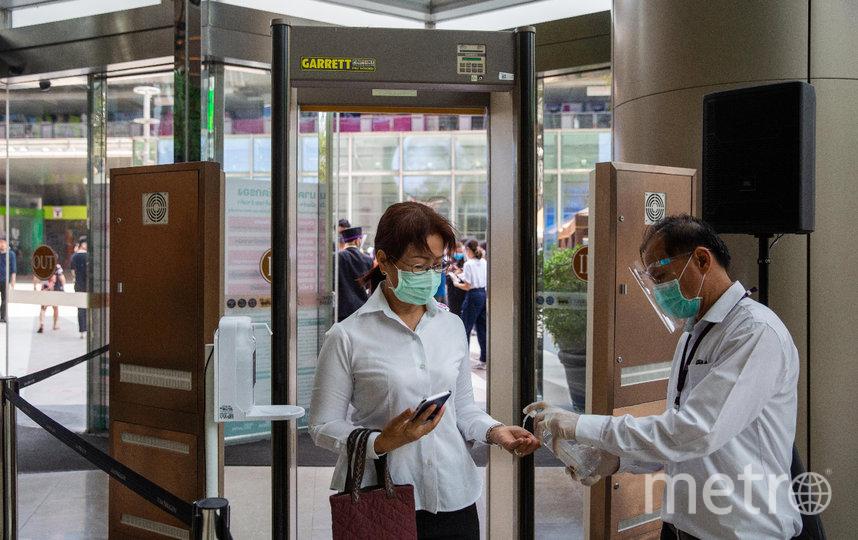 Доступ на территорию ТРЦ и магазинов будет осуществляться только при наличии маски и перчаток, а также с соблюдением социальной дистанции. Фото Getty