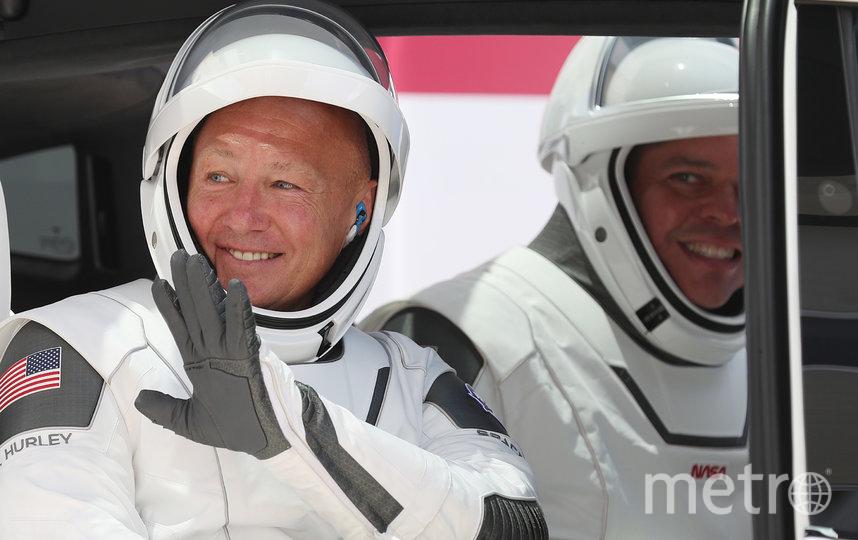 Роберт Бенкен (слева) и Даг Хёрли. Фото AFP