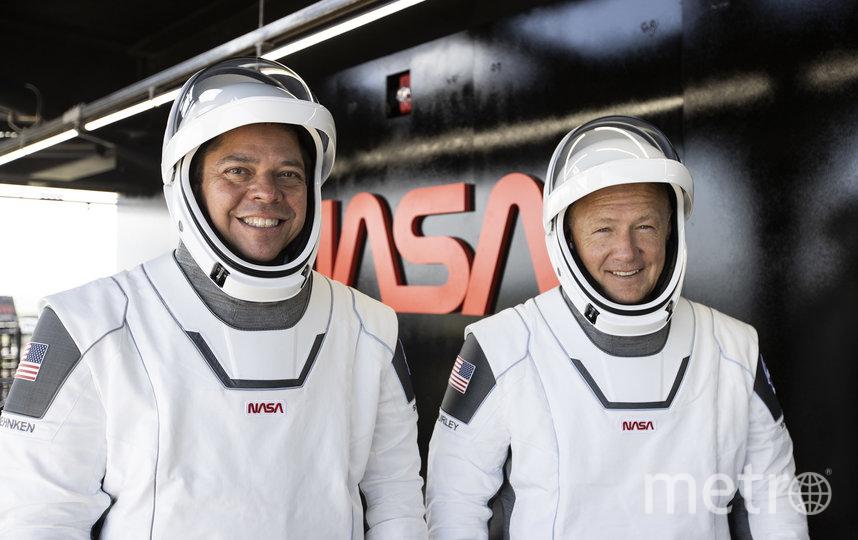 Даг Хёрли и Роберт Бенкен не только коллеги, но и лучшие друзья. Фото Space X