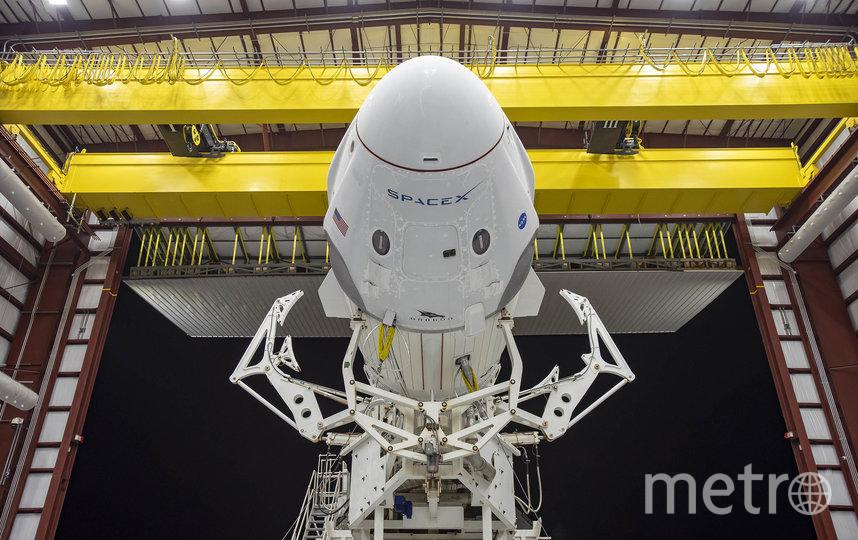 Корабль Crew Dragon. Фото Space X
