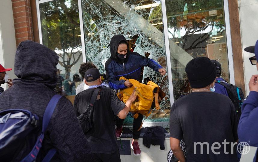 Мародёрство в Лос-Анджелесе. Фото AFP