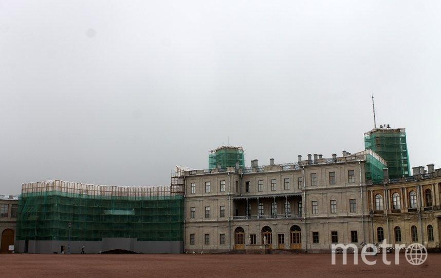 Реставрация Гатчинского дворца продолжается. Фото предоставлены КГИОП