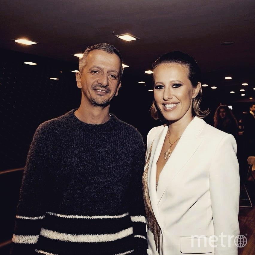 Константин Богомолов и Ксения Собчак. Фото instagram.com/konbog75.