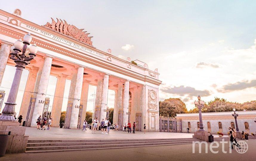 Парк Горького в Москве. Фото Pixabay