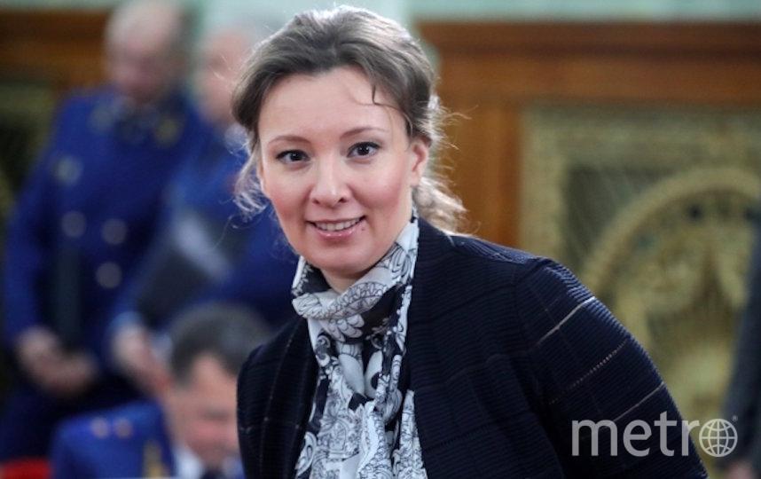 Уполномоченный при президенте РФ по правам ребёнка Анна Кузнецова. Фото РИА Новости