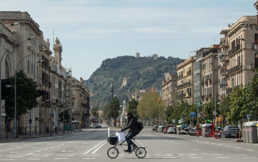 В Испании смертность на дорогах снизилась на 50-60%. Фото Getty