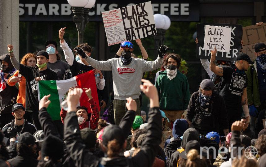 Протесты в Америке. Фото Getty