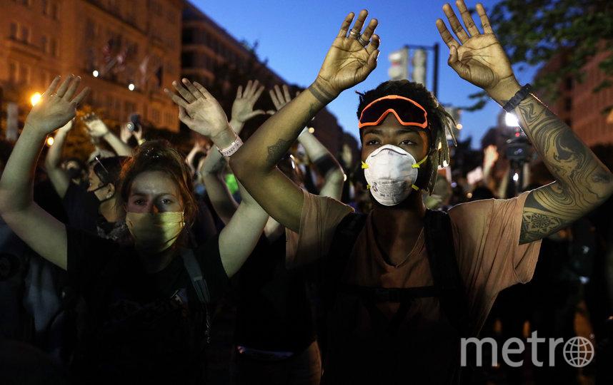 Протестующие требуют от властей обратить внимание на проблему с полицейским произволом. Фото Getty