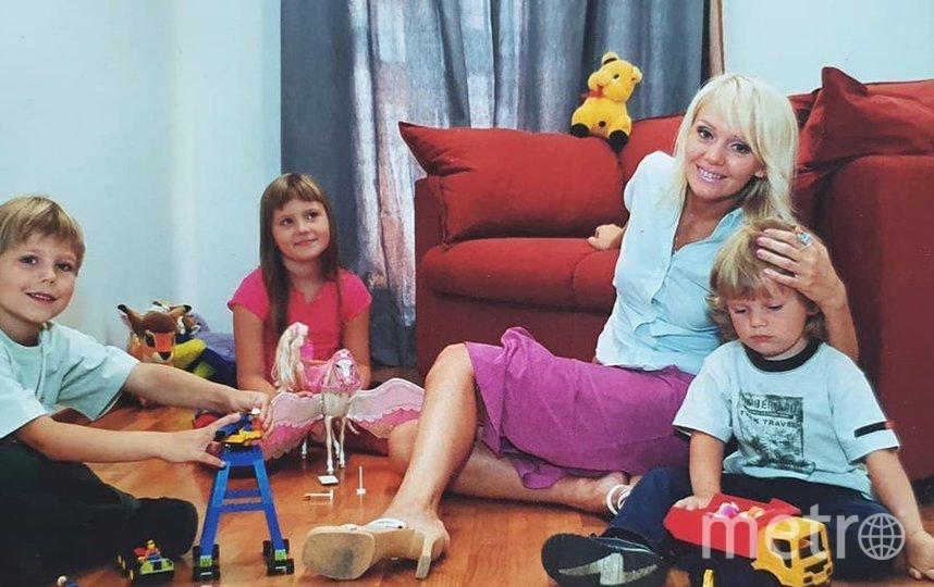 "Валерия с детьми. Фото //www.instagram.com/valeriya/, ""Metro"""