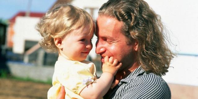 Агутин с дочкой Полиной.