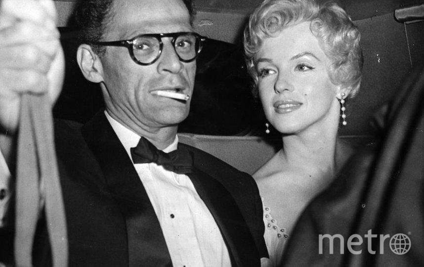 Мэрилин Монро с одним из мужей Артуром Миллером. Фото Getty