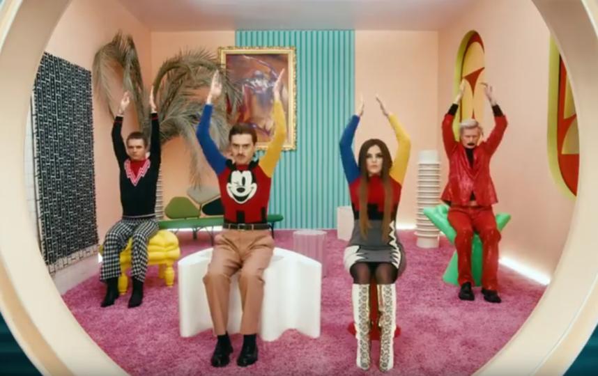 Кадр из клипа на песню Go Bananas группы Little Big. Фото Скриншот Youtube