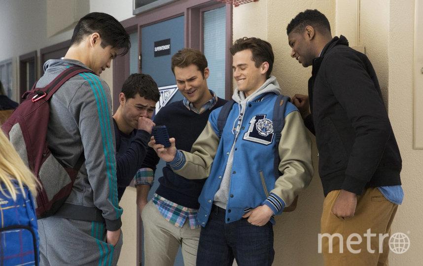 "Кадр из сериала ""13 причин почему"". Фото Netflix, ""Metro"""