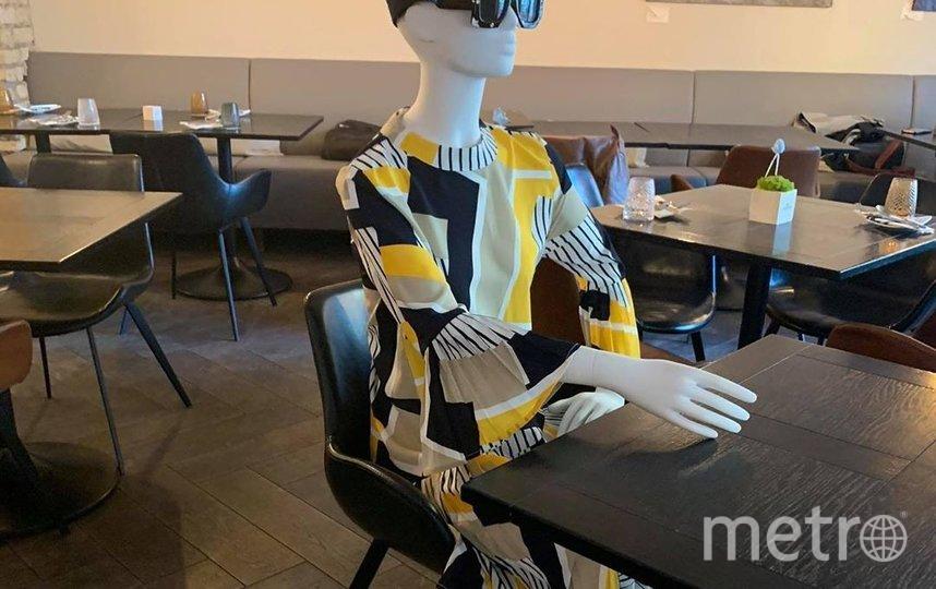 """Манекены в одежде от Юлии Янус. Фото INSTAGRAM / @juliajanus, """"Metro"""""""