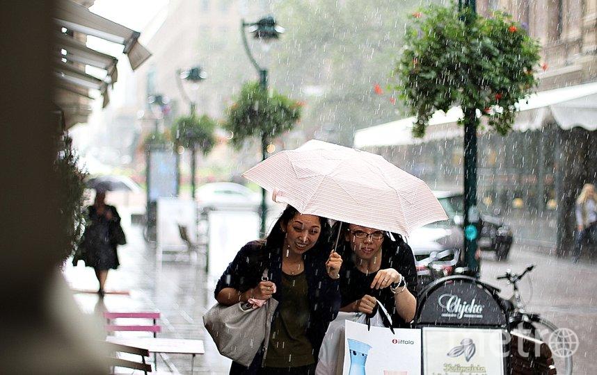 """Гуляем в дождливую погоду и не мокнем. Фото Маргарита Лемешко, """"Metro"""""""