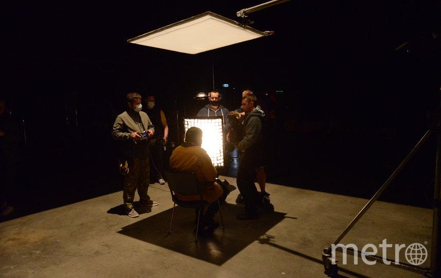 Съемочный процесс во время карантина выглядит вот так. Фото Предоставлено пресс-службой продюсерского бюро Okko Театр