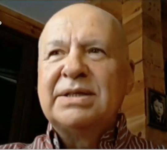 Александр Чепурнов, вирусолог. Фото скриншот Youtube/ Россия 24