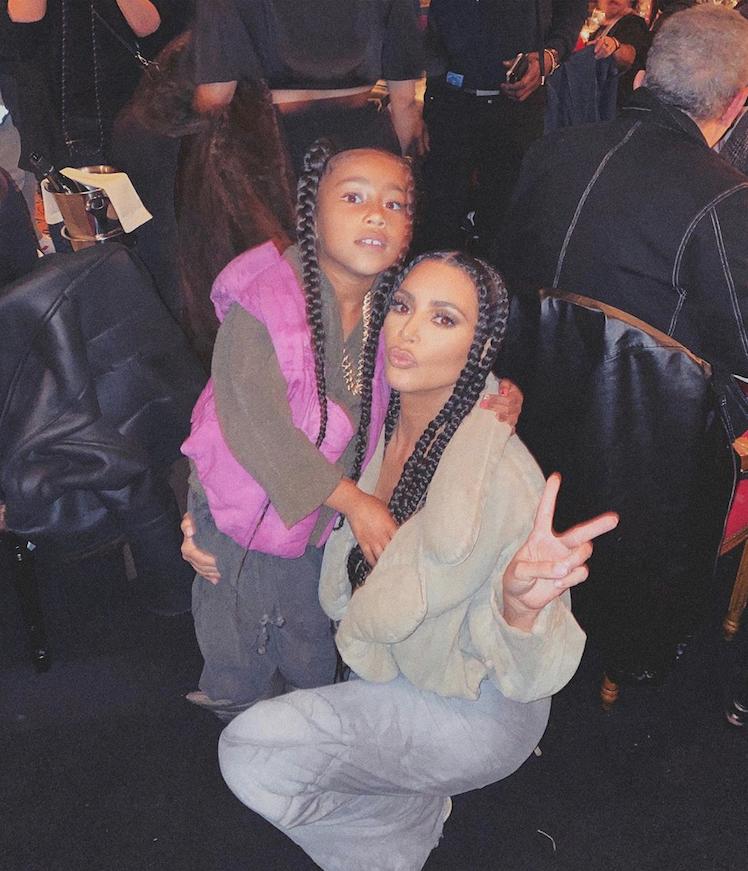 Ким и её 6-летняя дочь Норт. Фото instagram.com/kimkardashian