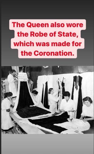 Instagram королевы Елизаветы II показал, как шилась одежда для её коронации. Фото Instagram @theroyalfamily