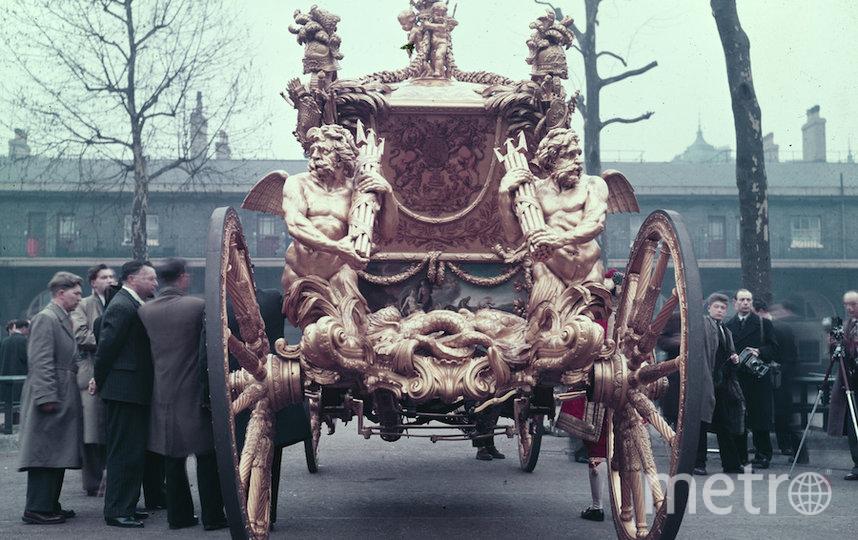 Карета, которую использовали в день коронации. Фото Getty
