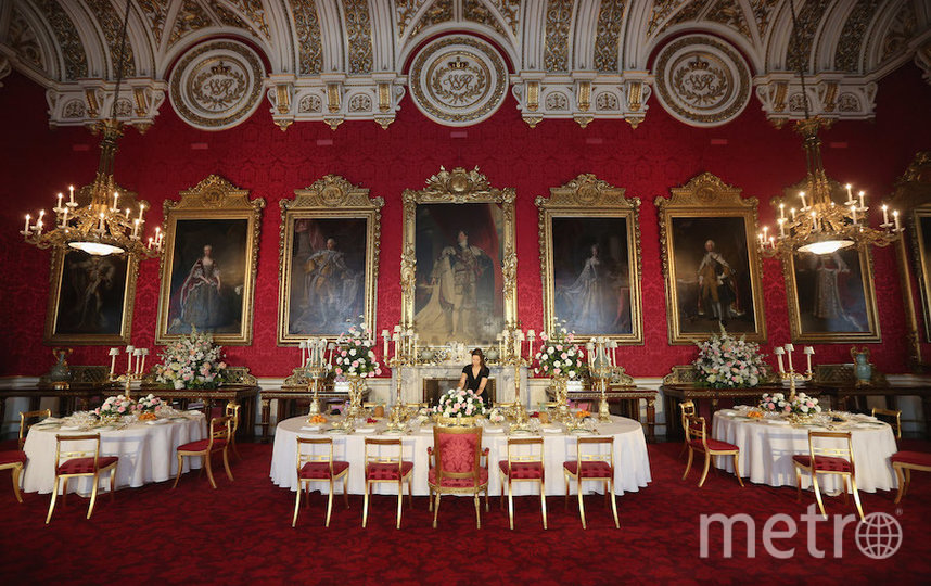 В этом зале проходил королевский банкет. Фото Getty