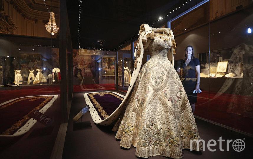 Платье Елизаветы II для коронации. Фото Getty