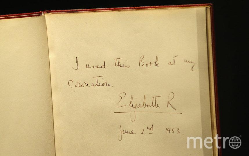 Запись Елизаветы II в дневнике в день коронации. Фото Getty