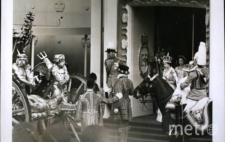 Королева Елизавета II в день коронации. Фото Getty