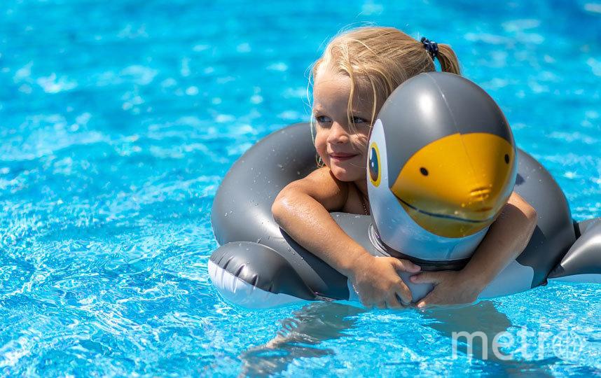 Одни из самых популярных бассейнов для дачи – надувные. Их популярность, вероятно, обусловлена низкой ценой. Фото Pixabay