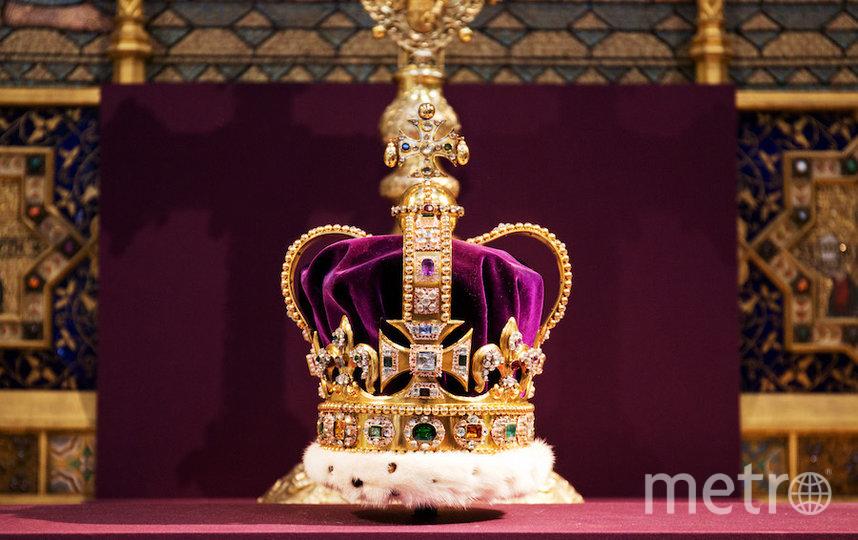 Корона Святого Эдуарда. Фото Getty
