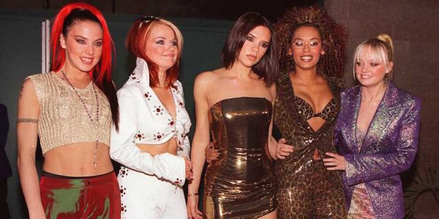 Spice Girls в 1997 году.