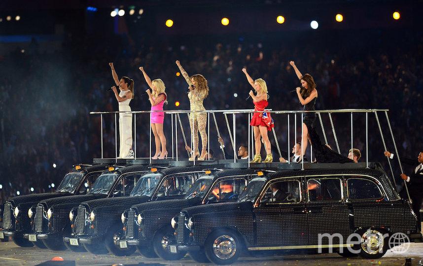 Spice Girls на церемонии закрытия Олимпиады-2012 в Лондоне. Фото Getty