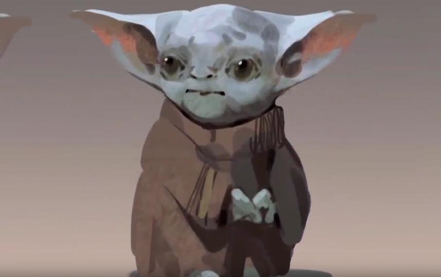 Вариант Малыша Йоды. Фото Скриншот Youtube
