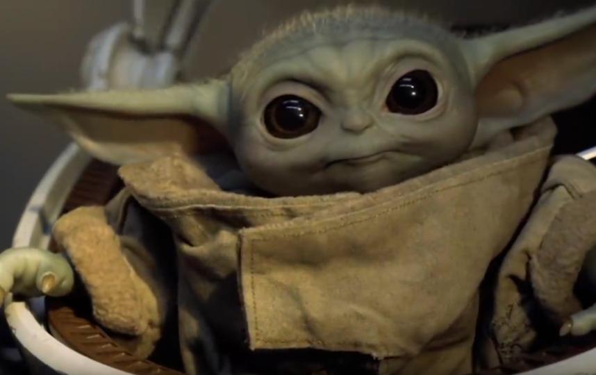 Малыш Йода. Фото Скриншот Youtube