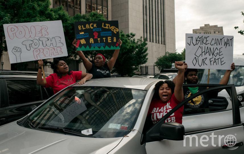 В ходе протестов в США уже погибли 11 человек. Фото Getty