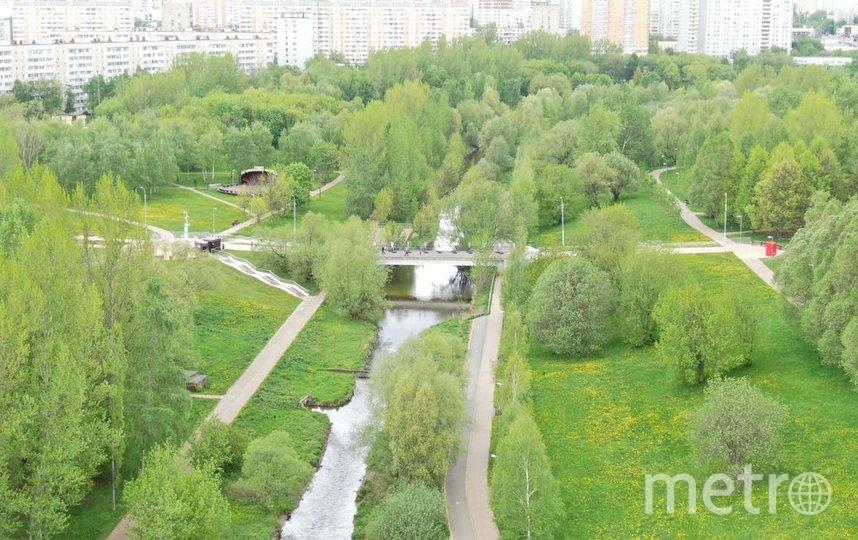 Москва остается одним из самых зеленых мегаполисов мира.