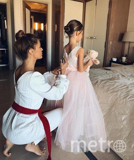 Виктория Боня с дочкой. Фото instagram.com/p/Bgb6IeaHDkO.