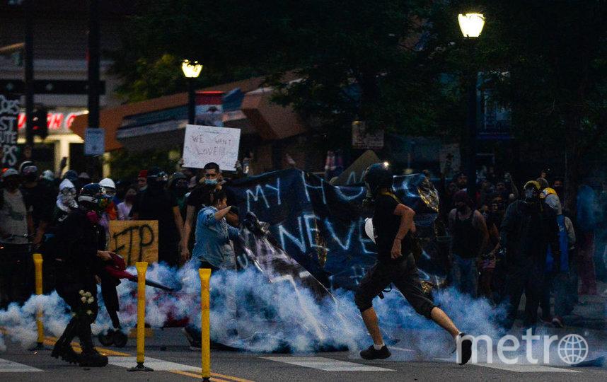 Массовые протесты в США. Фото Getty